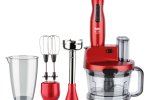 FAKİR Mr Chef Quadro Blender Set Rouge