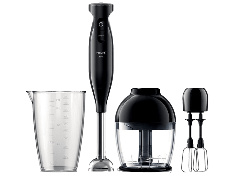 PHILIPS Viva Collection HR1335/00 700 W El Blenderi Çift Mikser ve Ölçekli Sürahi ile