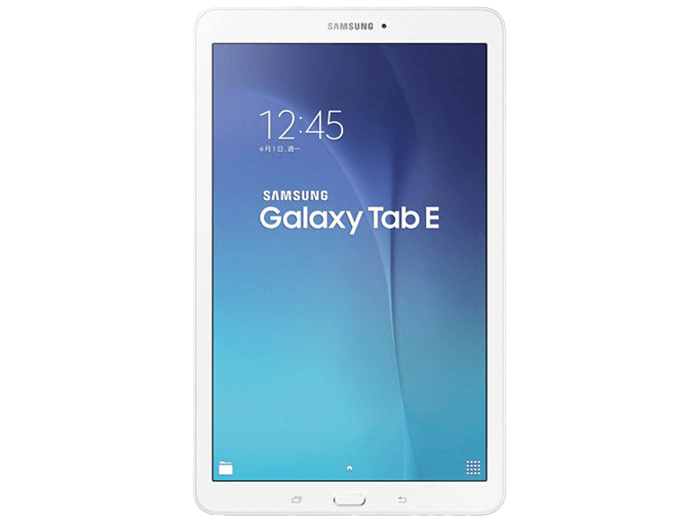 SAMSUNG Galaxy Tab E 9.6 inç Quad Core 1.3 GHz 1,5 GB 8 GB Android 4.4 KitKat Tablet PC Beyaz SM-T560NZWATUR