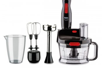 FAKİR Mr Chef Quadro Blender Set Siyah